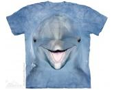NeuheitenThe Mountain Shirt Delfin - Dolphin Face EINZELSTÜCK