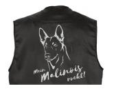 NeuheitenMil-Tec Hundesport Outdoor-Weste mit Dummytasche: Belgischer Schäferhund EINZELSTÜCK