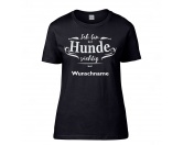 Taschen & RucksäckeTurnbeutelHund Herz T-Shirt Ich bin Hundesüchtig