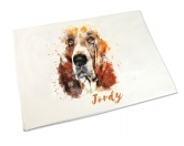 The Mountain FaceThe Mountain-Shirts HundeHandtuch: Basset 50 x 100 cm