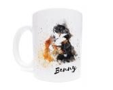 Aufkleber & TafelnTasse Hunderasse: Berner Sennenhund 2