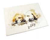 Leben & WohnenTeelichthalterHandtuch: Labrador Retriever 50 x 100 cm