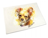 Aufkleber & TafelnHandtuch: Chihuahua 2 50 x 100 cm