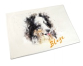 AusstellungszubehörHunderassen Ringclips vergoldetHandtuch: Shetland Sheepdog