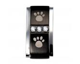 T-ShirtsFan-Shirts für HundefreundeEnergy and Life Magnet Schmuck Anhänger -Zirkonia- schwarz
