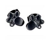 Bekleidung & AccessoiresHundesportwesten mit Hundesprüchen inkl. Rückentasche MIL-TEC ®Energy and Life Magnetschmuck - Ohrstecker Pfote -Zirkonia- schwarz