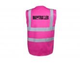 Bekleidung & AccessoiresWarnwesten & SicherheitswestenHundesport Warnweste Sicherheitsweste: Mantrailing 4