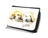 Bekleidung & AccessoiresHundesportwesten mit Hundemotiven inkl. Rückentasche MIL-TEC ®Hunde Portrait Geldbörse - Labrador Retriever