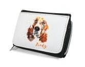 Taschen & RucksäckeCanvas Tasche HunderasseHunde Portrait Geldbörse - Basset