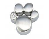 Bekleidung & AccessoiresSchals für TierfreundeEnergy and Life Magnetschmuck - Anhänger Pfote -Zirkonia- matt