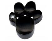 Für TiereKühlartikel für HundeEnergy and Life Magnetschmuck - Anhänger Pfote -Zirkonia- schwarz