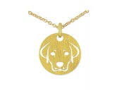 RestpostenSilberwerk LITTLE SIGNS Kette Hund -Gold-