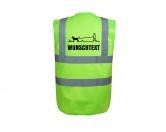 Bekleidung & AccessoiresHundesportwesten mit Hundesprüchen inkl. Rückentasche MIL-TEC ®Hundesport Warnweste Sicherheitsweste: Mantrailing 5