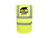 Bekleidung & AccessoiresSoftshell Fleece Warnwesten & SicherheitswestenHundesport Warnweste Sicherheitsweste: Mantrailing 6