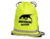 Bekleidung & AccessoiresHundesportwesten mit Hundesprüchen inkl. Rückentasche MIL-TEC ®Hundesport Rucksack Turnbeutel: Mantrailing 6