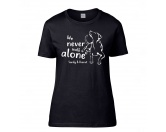 Hundedecken & KissenDRY-BED® & Profleece - TierunterlagenHundespruch T-Shirt: Never walk alone 4