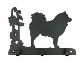 Taschen & RucksäckeCanvas Tasche HunderasseEurasier Leinengarderobe - Schlüsselbrett
