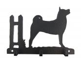 Bekleidung & AccessoiresHundesportwesten mit Hundemotiven inkl. Rückentasche MIL-TEC ®Akita Leinengarderobe - Schlüsselbrett