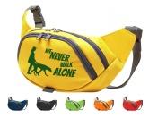 Hundedecken & KissenHundedeckenHundesport Bauchtasche Fun: Never walk alone 1