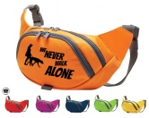 Hundedecken & KissenDRY-BED® & Profleece - TierunterlagenHundesport Bauchtasche Fun: Never walk alone 1
