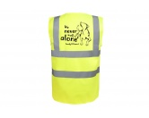Hundespruch KollektionenKollektion -Mantrailing-Hundesport Warnweste Sicherheitsweste: Never walk alone 4