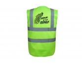 Bekleidung & AccessoiresWarnwesten & SicherheitswestenHundesport Warnweste Sicherheitsweste: Never walk alone 5