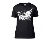 Für TiereHundepfeifen - HandarbeitHundespruch T-Shirt: Hunde sind Engel mit Fell