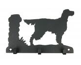 Socken mit TiermotivSocken mit HundemotivGordon Setter Leinengarderobe - Schlüsselbrett