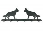 Taschen & RucksäckeCanvas Tasche HunderasseDeutscher Schäferhund Leinengarderobe - Schlüsselbrett 6 Haken