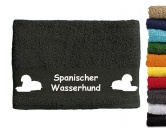 Für Menschen% SALE %Handtuch: Spanischer Wasserhund