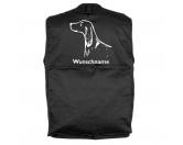 Tierische-FigurenVersilberte Hunde-FigurenIrish Setter 1- Hundesportweste mit Rückentasche MIL-TEC ®