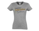 Für TiereSpielzeuge für HundeHundespruch T-Shirt: Das sind keine Hundehaare, das ist Barsoi Glitzer EINZELSTÜCK 2XL grau