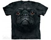 Für MenschenWeihnachtsmarktThe Mountain T-Shirt - Mops  Black Pug Face M EINZELSTÜCK