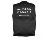 Bekleidung & AccessoiresHundesportwesten mit Hundesprüchen inkl. Rückentasche MIL-TEC ®Mil-Tec Hundesport Outdoor-Weste mit Dummytasche: DOGWALKER