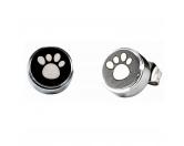 Für TiereSpielzeuge für HundeEnergy and Life Magnetschmuck - Ohrstecker-Set Pfoten - schwarz