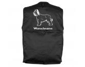 Bekleidung & AccessoiresHundesportwesten mit Hundemotiven inkl. Rückentasche MIL-TEC ®Briard- Hundesportweste mit Rückentasche MIL-TEC ®