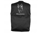 Für MenschenAuto-SonnenschutzHolländischer Schäferhund - Hundesportweste mit Rückentasche MIL-TEC ®