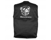 Taschen & RucksäckeCanvas Tasche HunderasseAmerican Bulldog - Hundesportweste mit Rückentasche MIL-TEC ®