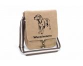 Bekleidung & AccessoiresHundesportwesten mit Hundemotiven inkl. Rückentasche MIL-TEC ®Bayerischer Gebirgsschweißhund Canvas Schultertasche Tasche mit Hundemotiv und Namen