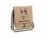 Bekleidung & AccessoiresHundesportwesten mit Hundemotiven inkl. Rückentasche MIL-TEC ®Belgischer Schäferhund Malinois Canvas Schultertasche Tasche mit Hundemotiv und Namen