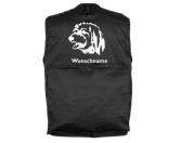Warnwesten & SicherheitswestenWarnwesten mit Hunderasse MotivenBerger des Pyrénées 2 - Hundesportweste mit Rückentasche MIL-TEC ®