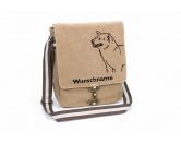 Taschen & RucksäckeCanvas Tasche HunderasseShiba Inu 2 Canvas Schultertasche Tasche mit Hundemotiv und Namen