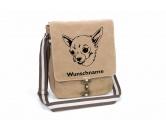 Bekleidung & AccessoiresHundesportwesten mit Hundemotiven inkl. Rückentasche MIL-TEC ®Chihuahua Kurzhaar Canvas Schultertasche Tasche mit Hundemotiv und Namen