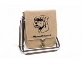 Küche & HaushaltGeschirrtücher, Topflappen & mehr!Border Terrier Canvas Schultertasche Tasche mit Hundemotiv und Namen