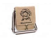 Bekleidung & AccessoiresHundesportwesten mit Hundemotiven inkl. Rückentasche MIL-TEC ®Bolonka Zwetna Canvas Schultertasche Tasche mit Hundemotiv und Namen