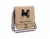 Bekleidung & AccessoiresHundesportwesten mit Hundemotiven inkl. Rückentasche MIL-TEC ®Appenzeller Sennenhund Canvas Schultertasche Tasche mit Hundemotiv und Namen