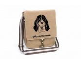 Bekleidung & AccessoiresHundesportwesten mit Hundemotiven inkl. Rückentasche MIL-TEC ®Ariégeois Canvas Schultertasche Tasche mit Hundemotiv und Namen