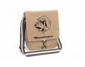 Bekleidung & AccessoiresHundesportwesten mit Hundemotiven inkl. Rückentasche MIL-TEC ®Basset Griffon Vendéen Canvas Schultertasche Tasche mit Hundemotiv und Namen