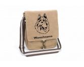 Bekleidung & AccessoiresHundesportwesten mit Hundemotiven inkl. Rückentasche MIL-TEC ®Belgischer Schäferhund Tervueren Canvas Schultertasche Tasche mit Hundemotiv und Namen