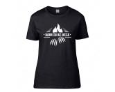 SchlüsselanhängerSchlüsselanhänger versilbertHundespruch T-Shirt: Born to be wild